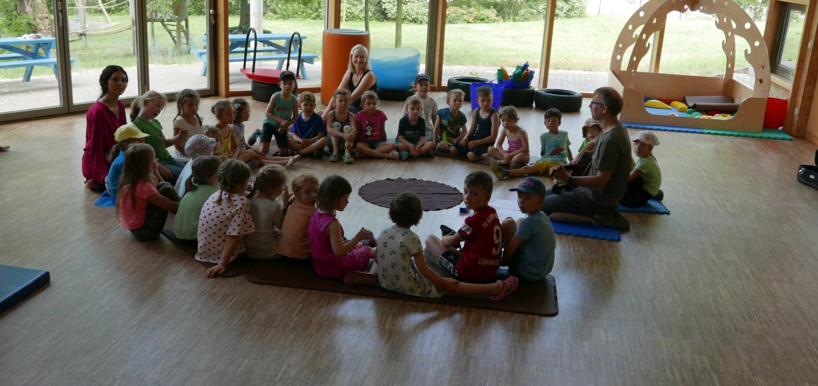 Morgenkreis im Kindergarten